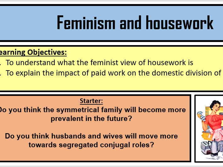 Feminism and housework