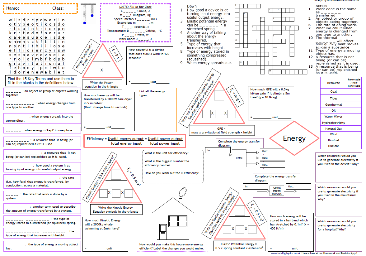 AQA Waves Revision A3 Worksheet (1-9 grade 2018 spec)