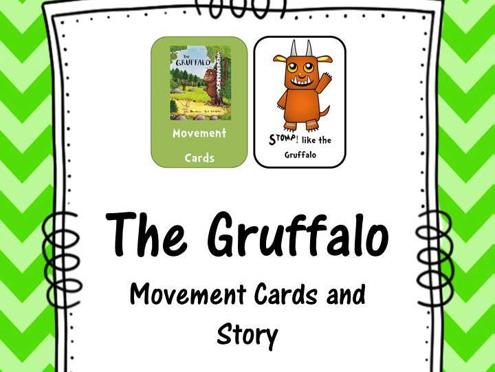 The Gruffalo Movement Cards