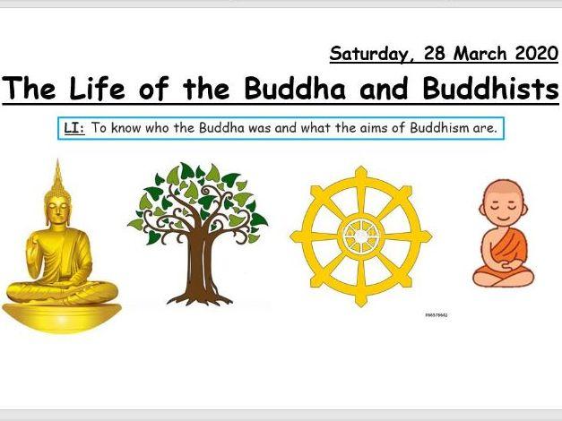 The Life of the Buddha and Buddhists (KS3)