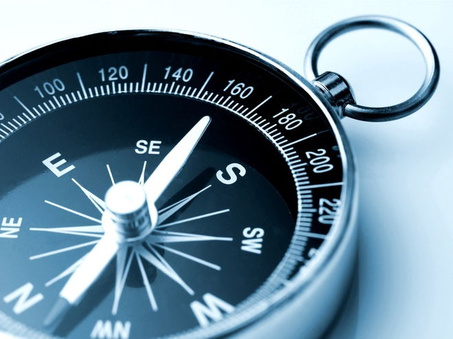 Geography: To be able to read a compass lesson