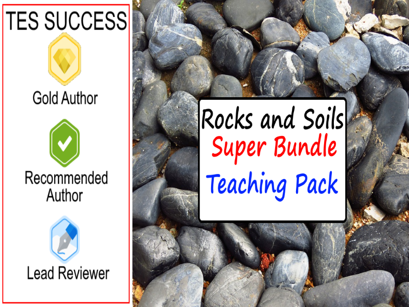 Rocks and Soils Bundle