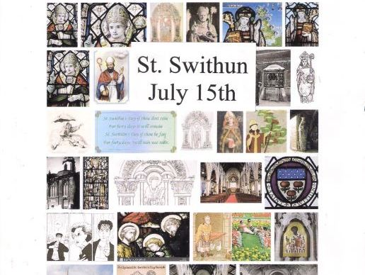 St. Swithun,  July 15th