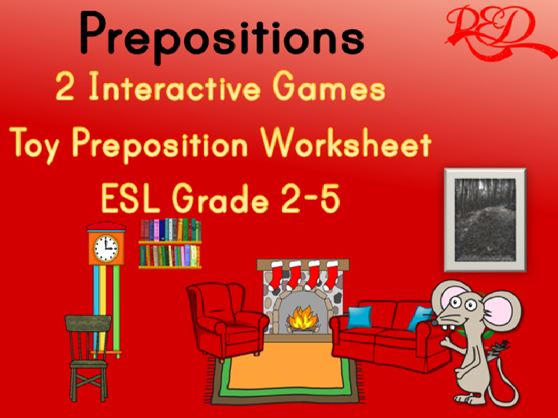 Preposition Powerpoints and Printables