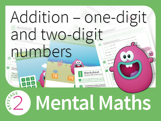 Mastering Mental Addition - One-digit and two-digit numbers