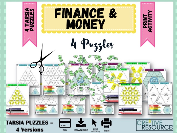 Money and Finance Puzzles