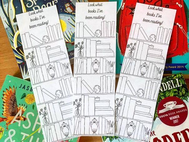 Bookcase Bookmarks