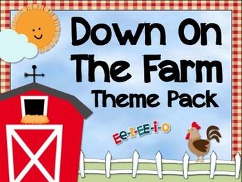Down On The Farm Classroom Theme - Farm Decor Pack