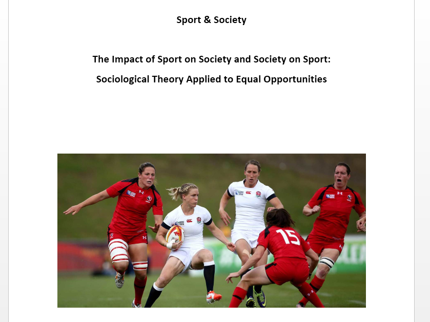 AQA New A Level PE. Sport & Society - Year One Workbooks.