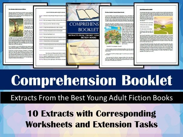 Comprehension Booklet - Home Learning