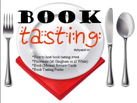 Book Tasting Resources, Poster & Instructions Great for World Book Day (Easy/Low Cost)