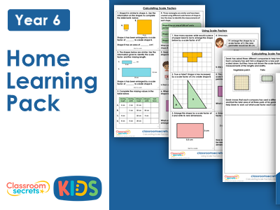 Year 6 Spring Week 12 Home Learning Maths Pack