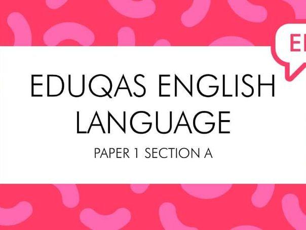 Eduqas English Language Complete Paper 1 - November 2017