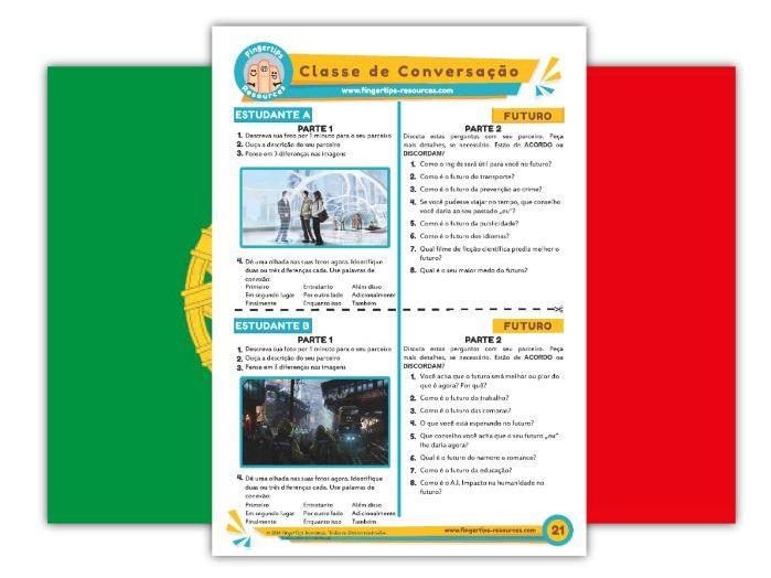 Futuro - Portuguese Speaking Activity