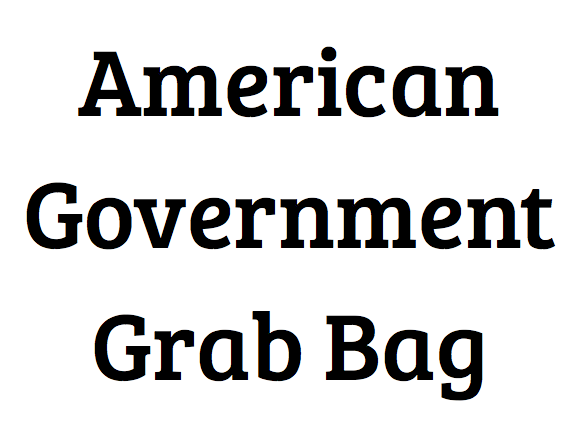 American Government Grab Bag
