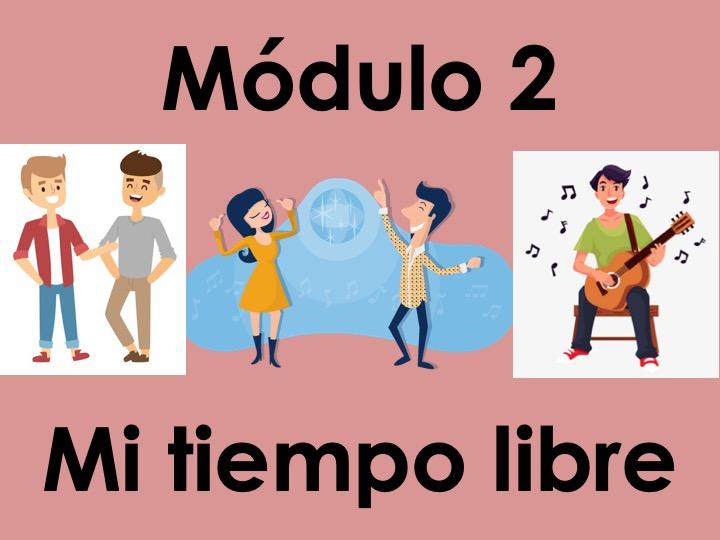 KS3 Viva 1 - Module 2 Mi tiempo libre