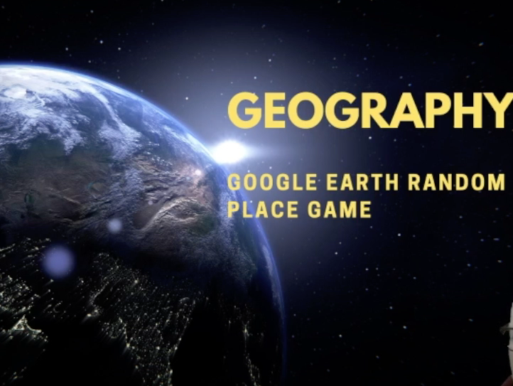 Geography Google Earth Random Place Game