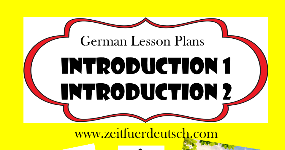 First 2 German Lessons. German Introduction Bundle. Powerpoints and Resources & Bonus Lessons