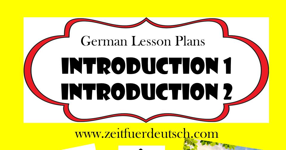 preschool german resources greetings