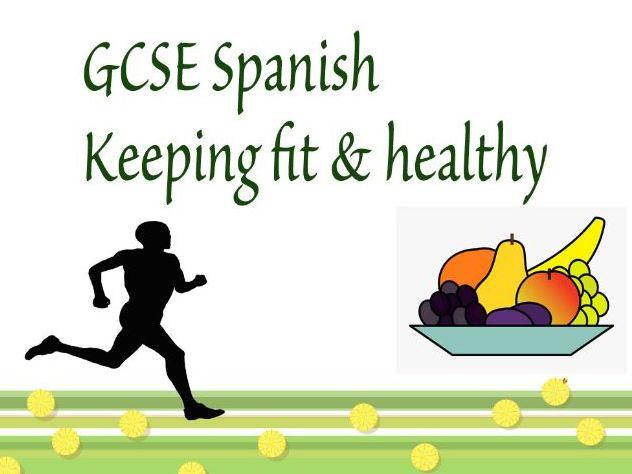 Spanish GCSE - Healthy living