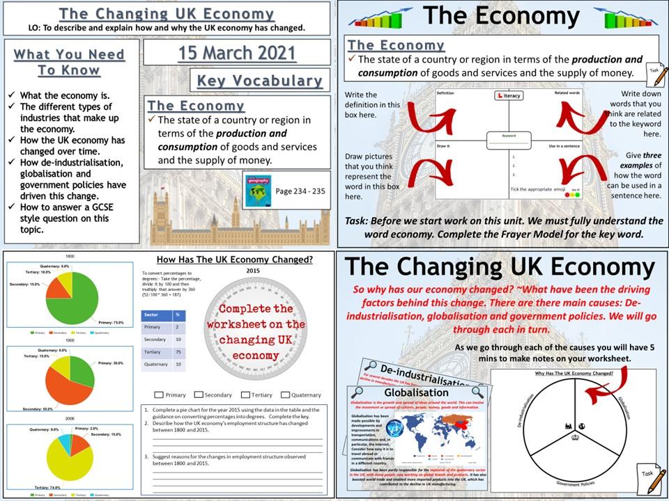 The Changing UK Economy
