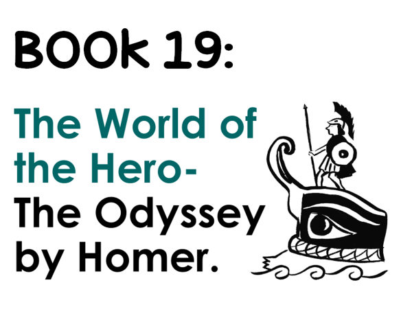 GCSE The Odyssey Book 19 knowledge and analysis and exam-style question