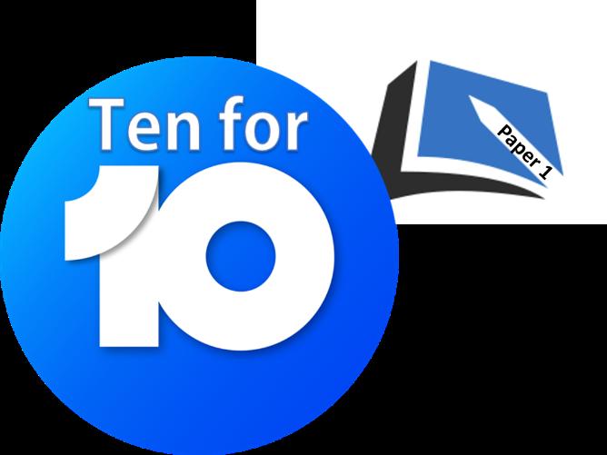 GCSE PE - Paper 1 :Ten For Ten