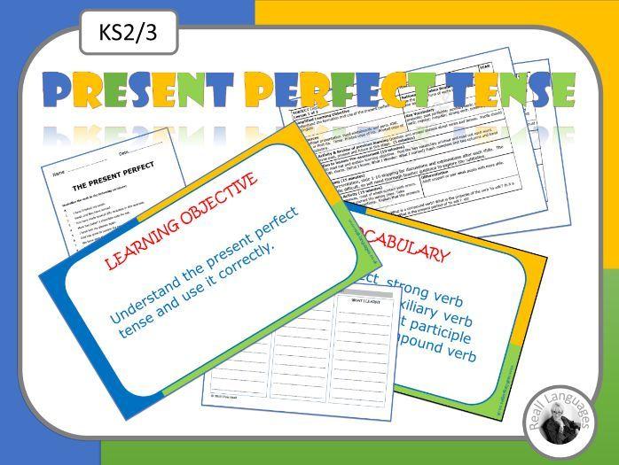 Present Perfect Tense: 2 English lessons
