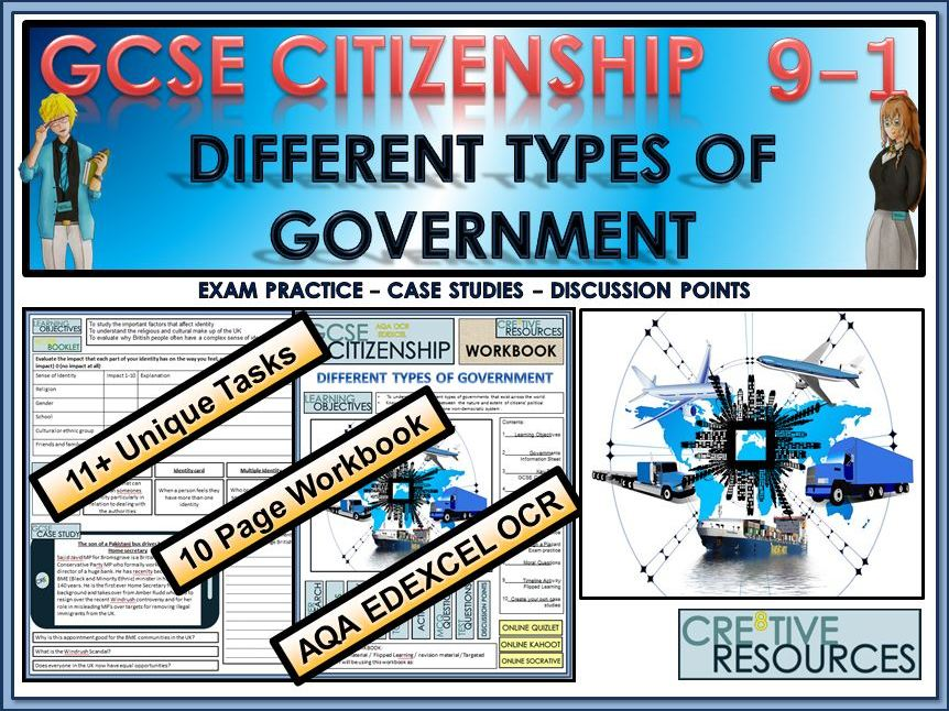 GCSE Citizenship (9-1) Different Types of Government