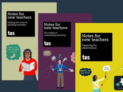 Showing what you've got - new teacher e-book bundle