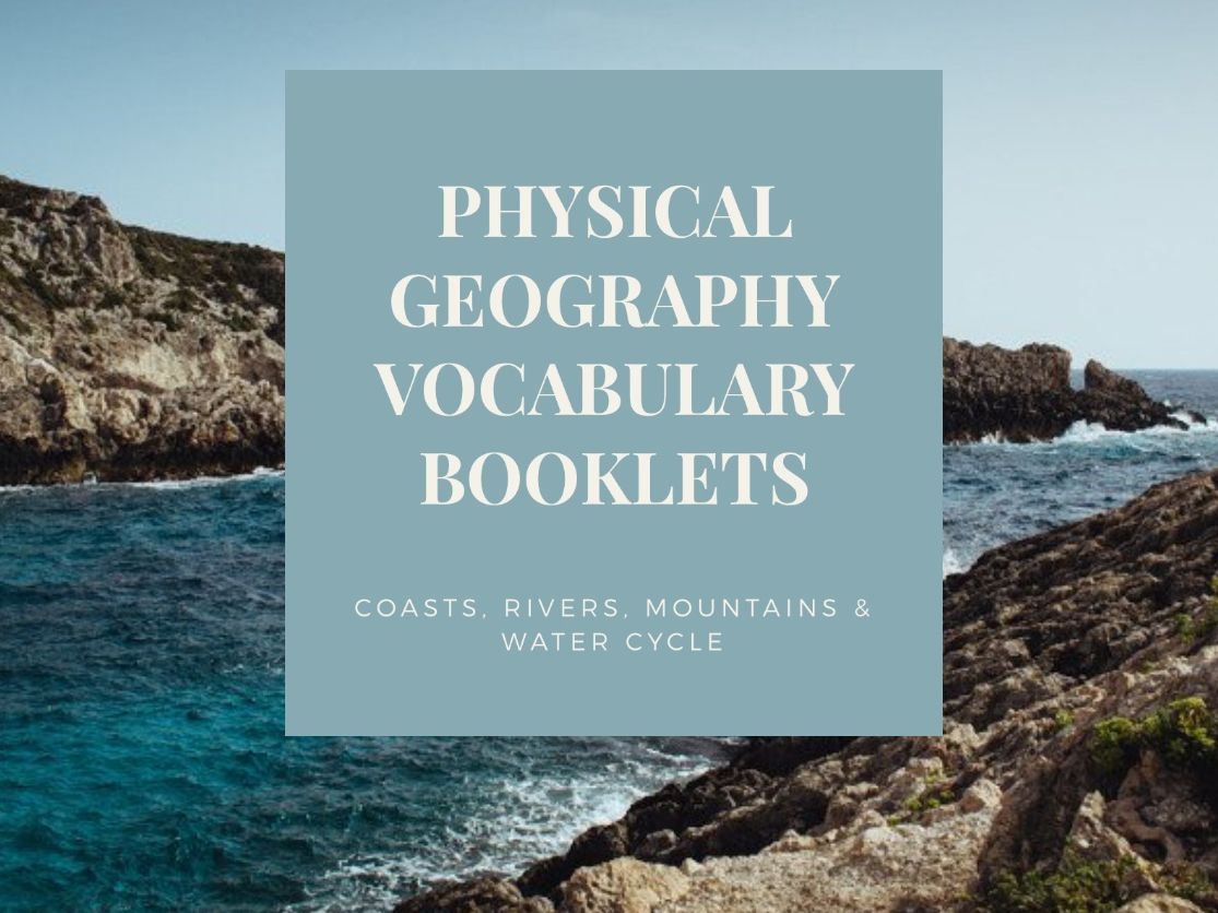 Physical Geography Vocabulary Booklets