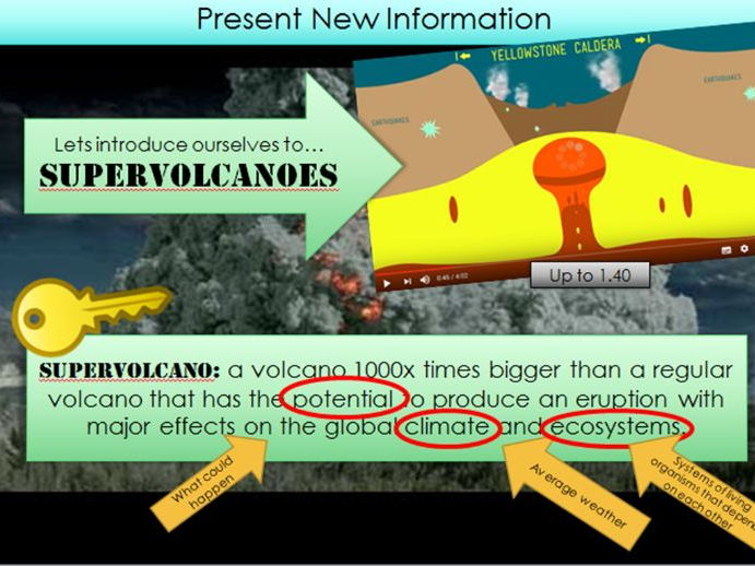 Supervolcano - KS3 Geography's TOP TEN - Lesson 3