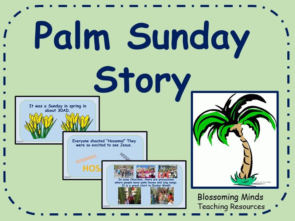 Palm Sunday Story Powerpoint