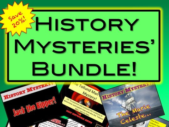 History Mysteries Bundle - Inference and Evidence
