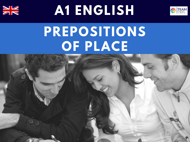 Prepositions Of Place A1 Beginner ESL Lesson Plan