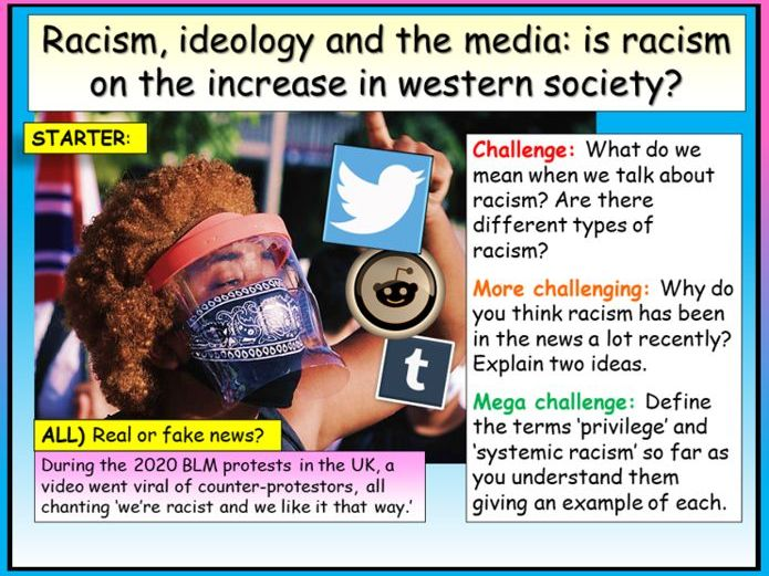 Racism, Media and Critical Race Theory