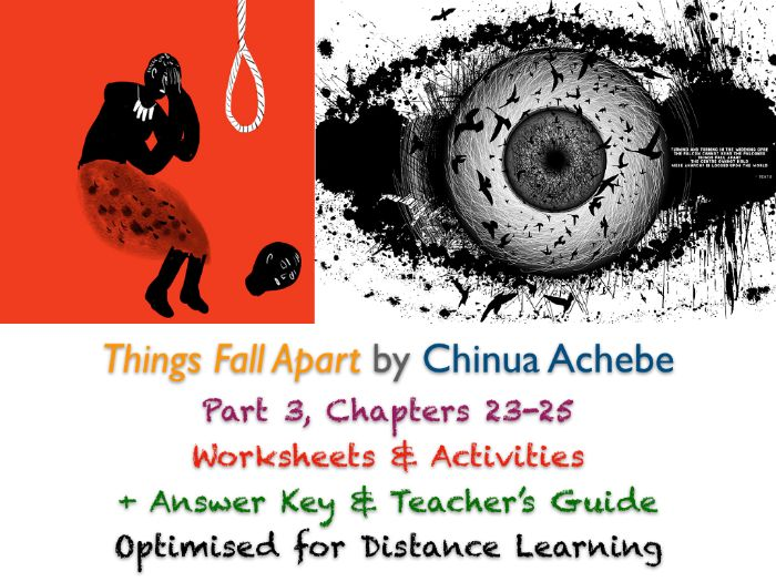 Things Fall Apart (Chinua Achebe) Ch. 23-25 - The Title - Activities + ANSWERS