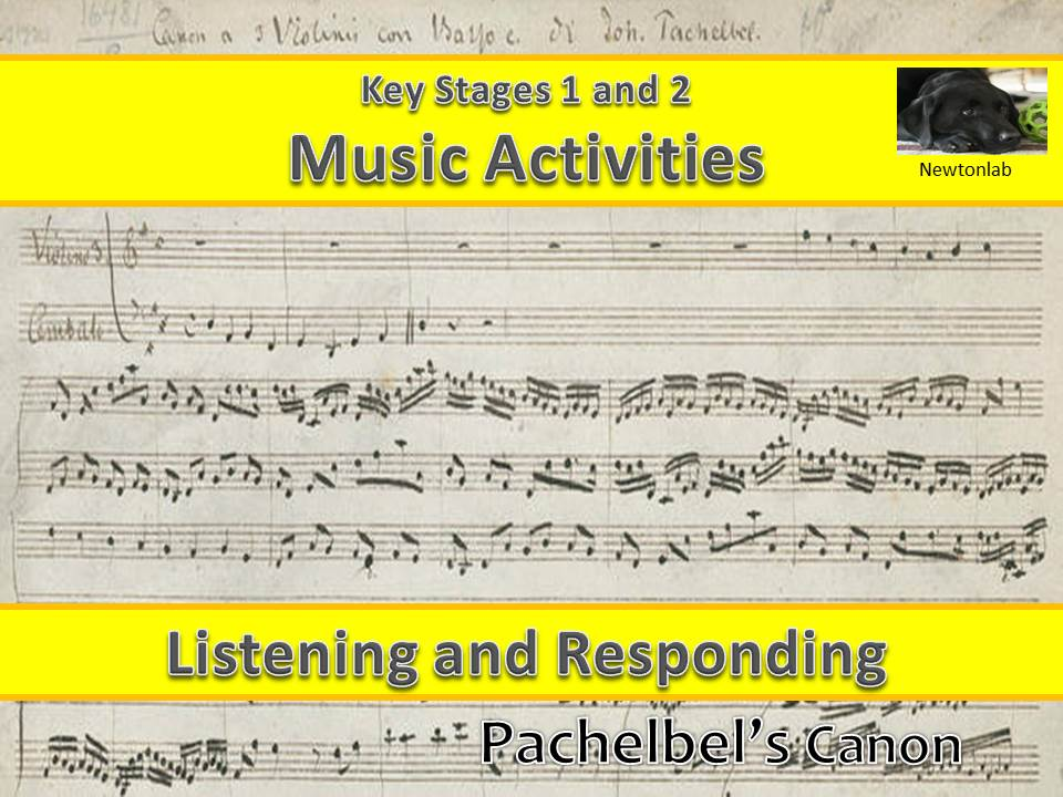Listening and Responding to Music - Pachelbel's Canon - Key Stages 1 and 2