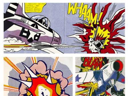 Roy Lichtenstein Wham Artwork and Research