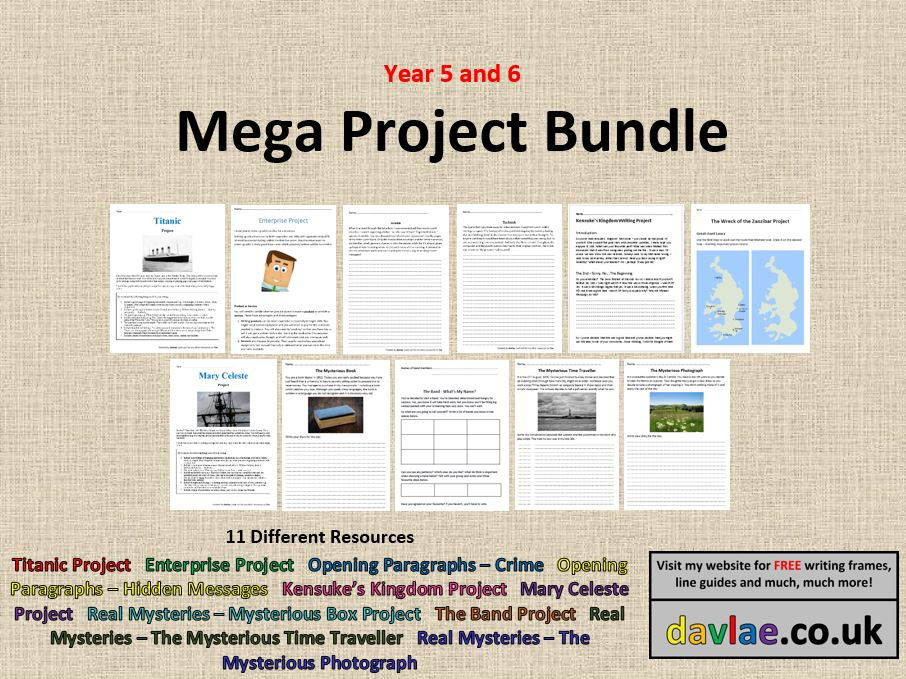 Mega Project Bundle