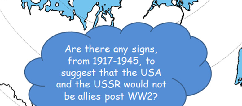 GCSE - The Cold War - Background Events