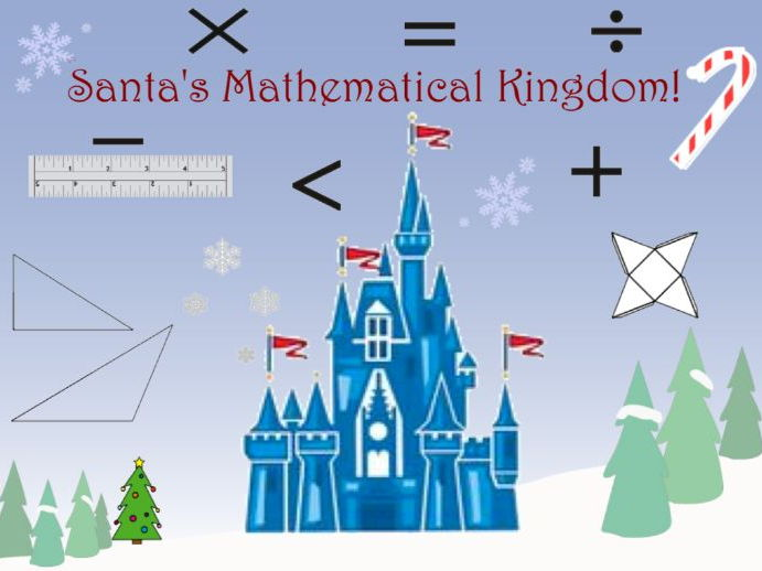 Santa's Mathematical Kingdom - Christmas Activity Pack