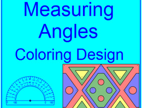 MEASURING ANGLES WITH A PROTRACTOR FREEBIE