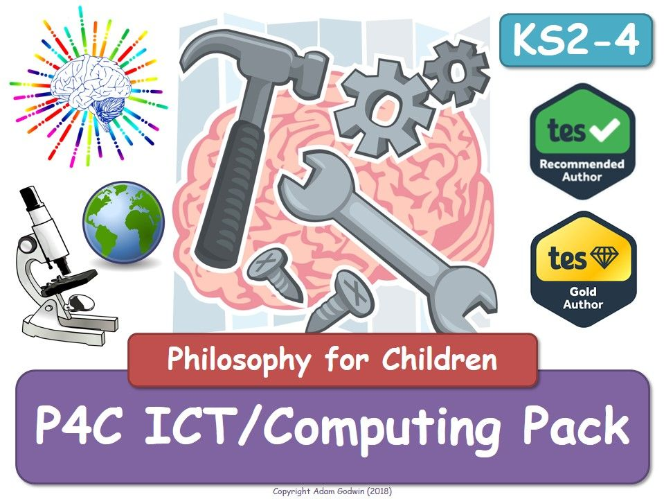 P4C ICT Computing Pack (Philosophy for Children) (X4)