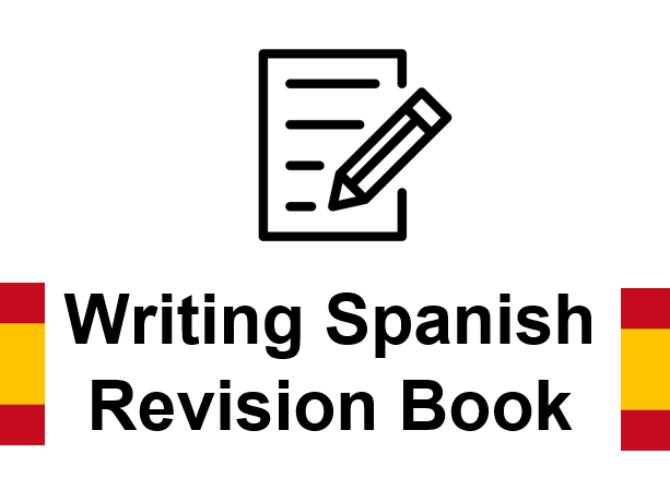 Booklet writing revision GCSE Spanish
