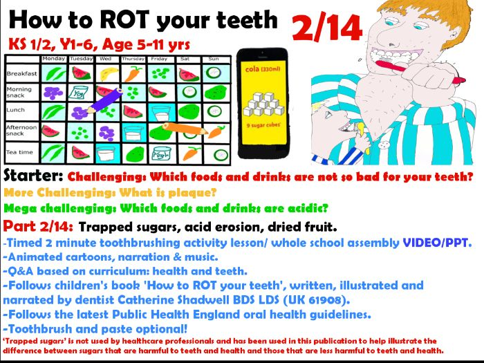 2/14 two minute tooth brushing animated activity ppt /video
