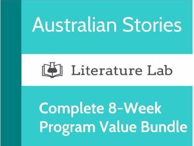 Literature Lab:  Australian Stories - Complete 8-Week Program Value Bundle