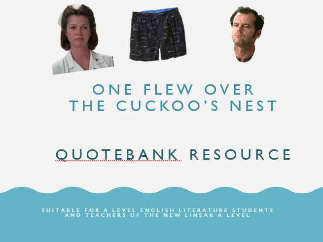 One Flew Over the Cuckoo's Nest Quotebank