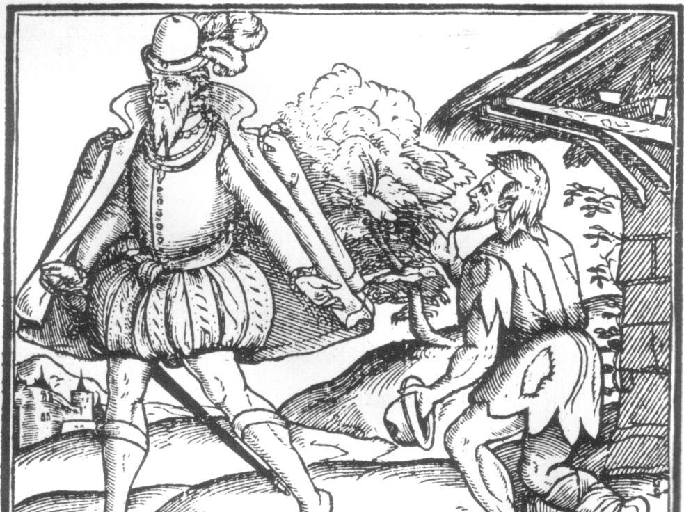 Elizabethan Poor Law - AQA GCSE: Elizabethan England, 1568-1603 -Lesson 23