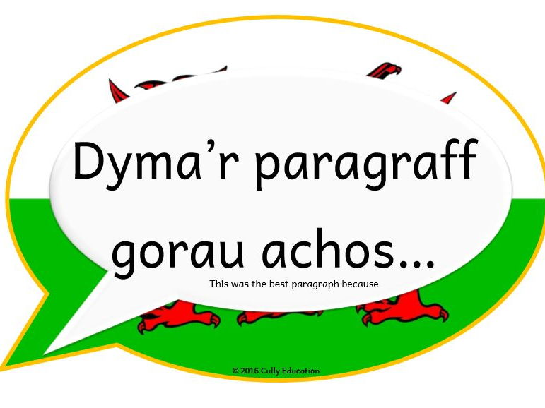 Incidental Welsh Posters for the Y4 Classroom